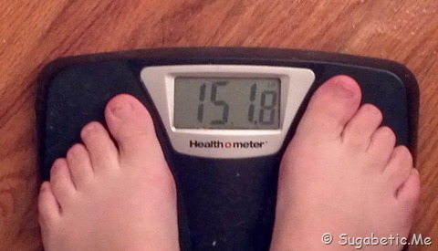 Weigh In 11/9 - 151.8 lbs