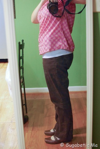 Sideview - size8 pants